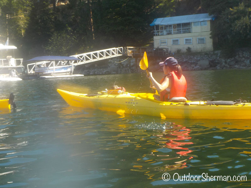 Kayaking at Deep Cove | OutdoorSherman com