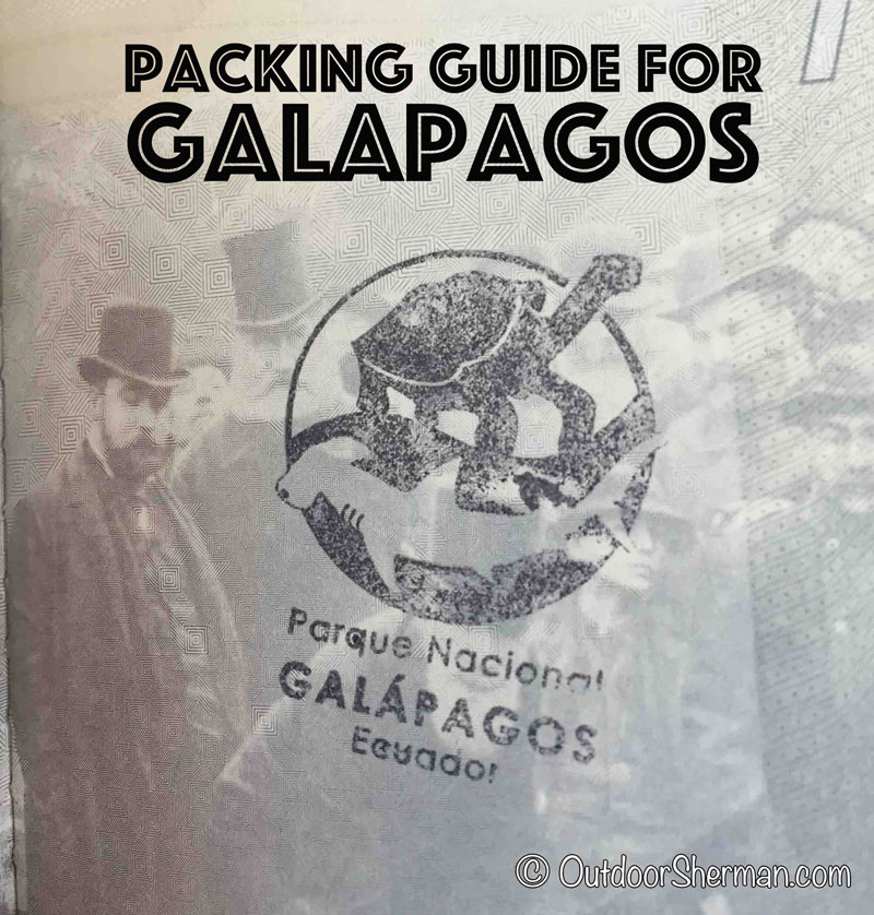 Packing Guide Galapagos