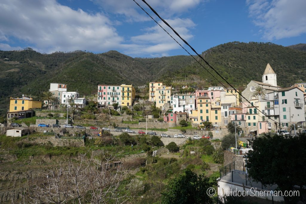 View of Corniglia