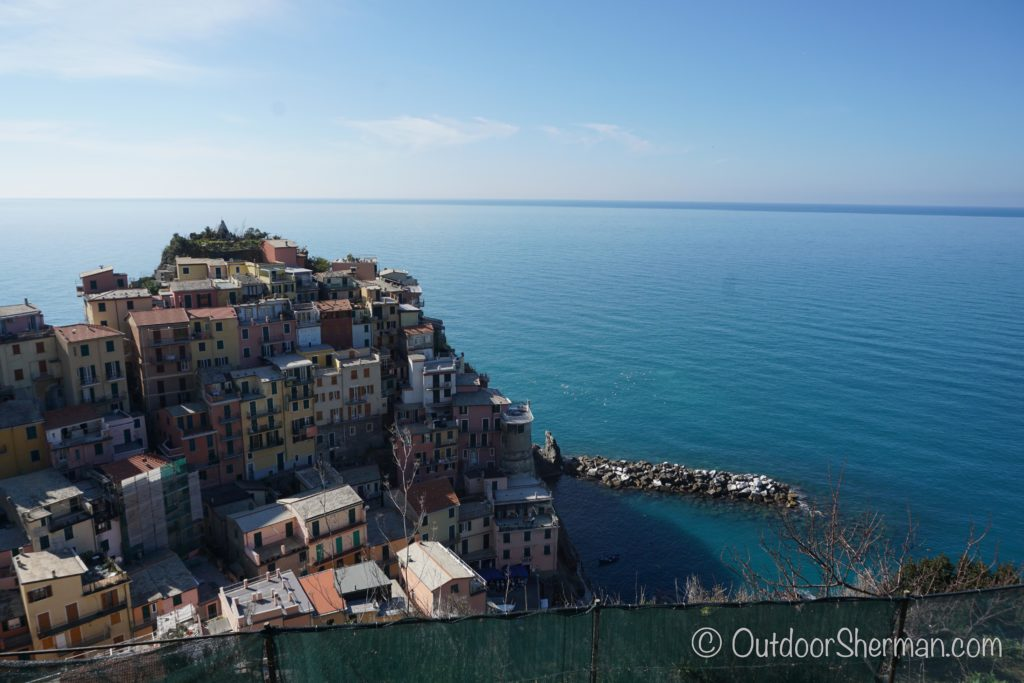 Gorgeous View of Manarola
