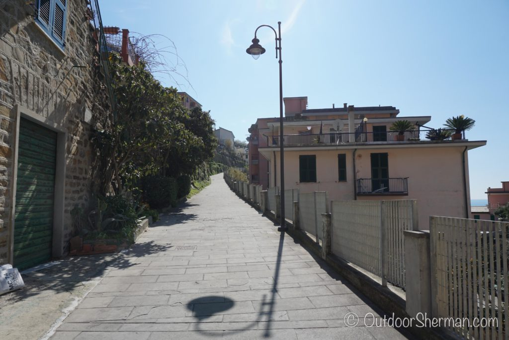 Hiking trail of Riomaggiore