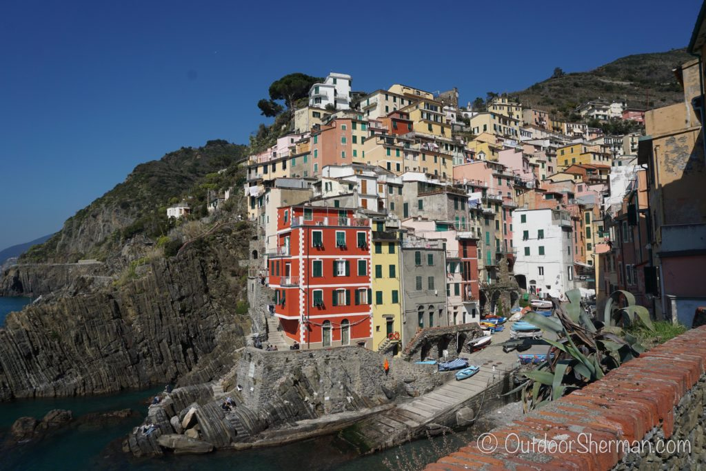 Gorgeous waterfront view of Riomaggiore