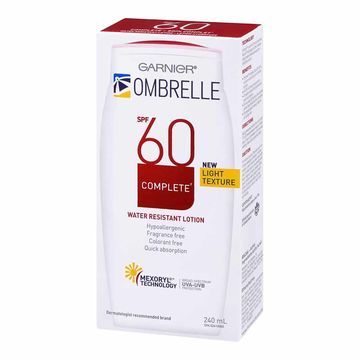 Sunscreen Ombrella SPF 60